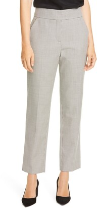 Judith & Charles Takashi Microcheck Virgin Wool Pants