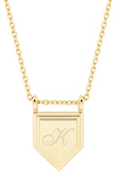 brook & york Emily Initial Necklace