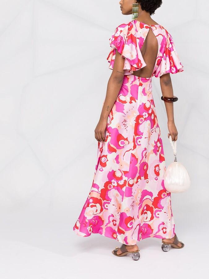 Thumbnail for your product : La DoubleJ Damigella floral-print dress