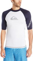 Quiksilver Men's All Time Short Sleeve Surf Tee Rashguard