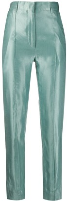 Ann Demeulemeester High-Waisted Slim-Fit Trousers