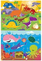 Prince Lionheart 2-Pack Dino/Ocean Bath Puzzle