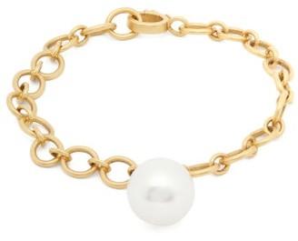 Irene Neuwirth South Sea Pearl & 18kt Gold Link Bracelet - Pearl