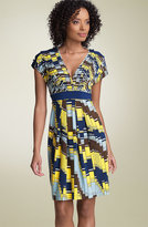 Print Matte Jersey Dress