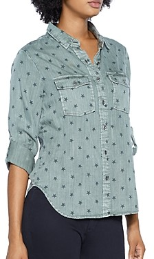 BILLY T Classic Star Print Shirt