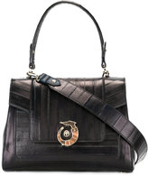 Trussardi Lovy bag - women - Calf Leather/Polyester/King Rat Snake - One Size