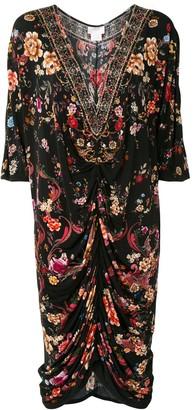 Camilla Draped Jersey Dress