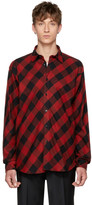 John Lawrence Sullivan Johnlawrencesullivan Red & Black Plaid Shirt