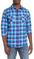 Hurley 'Rowen' Regular Fit Dri-FIT Check Woven Shirt