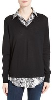Equipment Women's Cecile Layer Look Wool & Cashmere Sweater