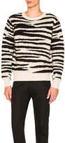 Stussy Zebra Mohair Sweater