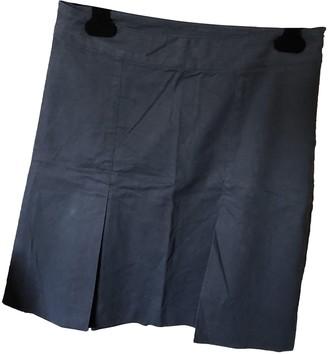 Patrizia Pepe Blue Cotton - elasthane Skirt for Women