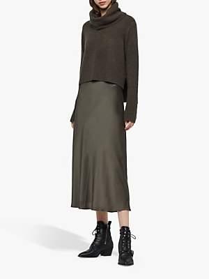 AllSaints Tierny Roll Neck Jumper Dress