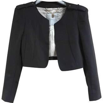 Annie P. Black Cotton Jacket for Women