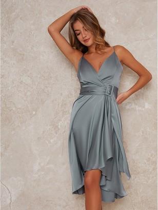 Chi Chi London Jennifer Bridesmaid Dress - Green