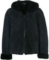 Yeezy zip up padded jacket