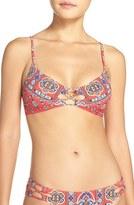Nanette Lepore Women's 'Pretty Tough' Bralette Bikini Top