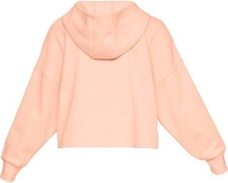 Under Armour Womens UA Taped Fleece Full Zip LG Orange Dream