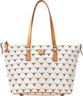 Dooney & Bourke NCAA Texas Zip Top Shopper
