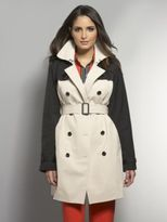 New York & Co. The NY Trench - Colorblock