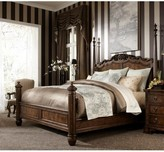 Belverdere Four Poster Bed Fine Furniture Design Size: King