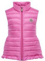 Moncler Cherame Down Lightweight Down Puffer Vest, Pink, Size 2-6