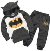OCCOO Baby Batman Clothing Sets Children Spring Tracksuits