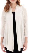 Alyx 3/4-Sleeve Open-Front Cardigan Sweater Cozy