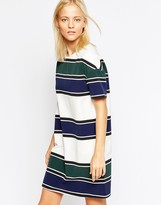 Wood Wood Adelaide Stripe Dress
