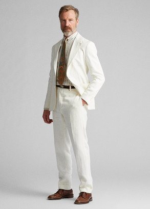 Ralph Lauren Slim Fit Linen Suit Trouser