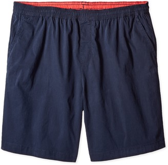 Nautica Men's Big Boardwalk Elastic Waist Stretch Cotton Short