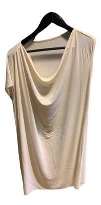 Eres Ecru Synthetic Dresses