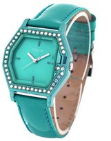 GUESS GUESS? W80075L3 Jade Patent Leather Iridescent Dial Women's Watch