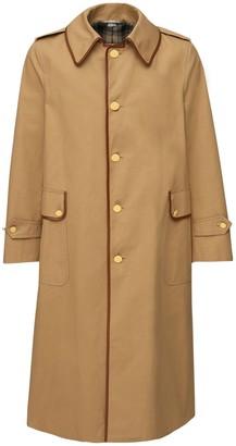 Gucci Light Cotton Drill Trench Coat