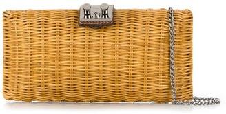 Rodo Woven Clutch Bag