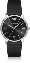 Emporio Armani Kappa Stainless Steel Leather Men's Watch