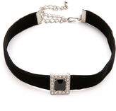 Kenneth Jay Lane Velvet Choker