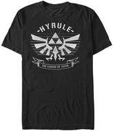 Fifth Sun Men's Tee Shirts BLACK - Legend of Zelda Black 'Hyrule' Crest Tee - Men