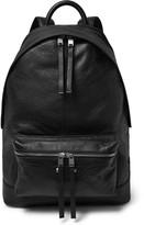 Balenciaga Creased-Leather Backpack