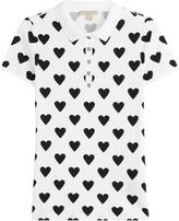 Burberry Printed Cotton Polo Shirt