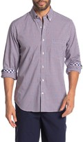 Tailorbyrd Long Sleeve Woven Button Down Shirt