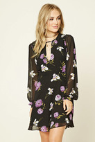 Forever 21 FOREVER 21+ Contemporary Floral Mini Dress