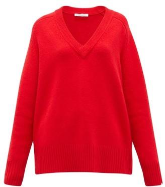 Extreme Cashmere No.124 Vital Stretch-cashmere Sweater - Red