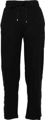 DKNY Grosgrain-trimmed Jersey Track Pants