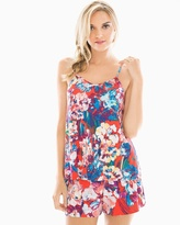 Soma Intimates Racerback Pajama Cami Artistic Floral Grenadine