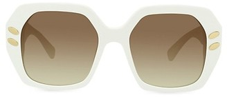 Stella McCartney 54MM Butterfly Sunglasses