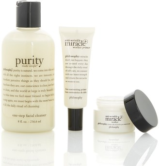 philosophy Miracle Worker, Primer, & Purity Set