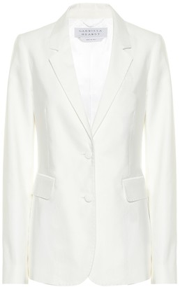 Gabriela Hearst Sophie cotton blazer