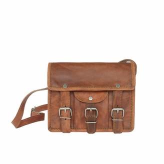 Vida Vida Vida Vintage Mini Mini Leather Satchel