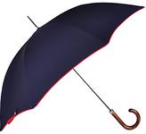 Mr Stanford Lewes Umbrella, Navy/Red